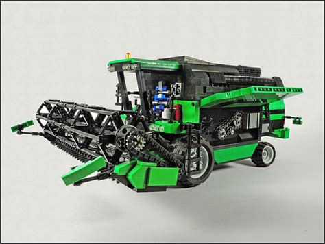 lego technic deutz fahr  combine harvester rc