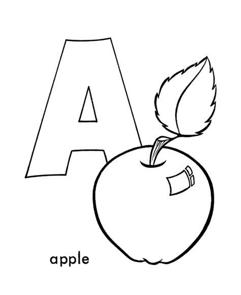 letter a coloring pages letter a coloring pages for preschoolers coloring home
