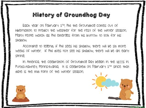 groundhog day prediction best photos of groundhog day prediction worksheet