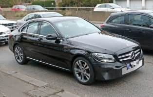Mercedes C Class 2018 Mercedes C Class Facelift Shows Interior For The