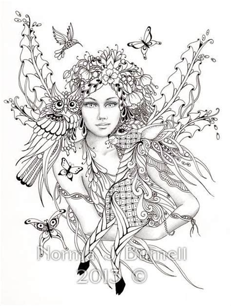 coloring books beautiful fairies 35 unique illustrations books 25 best ideas about coloring pages on