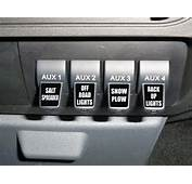 Upfitter Switch Decals  Labels Stickers Ford F 250 350 Super Duty