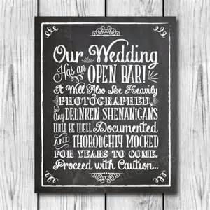 Wedding Quotes Pdf Chalkboard Shenanigans Wedding Sign Printable Wedding Sign
