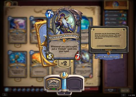 make a hearthstone card heartstone wow tcg announced mmo chion