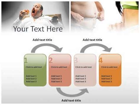 Powerpoint Template On Obesity Youtube Obesity Powerpoint Presentation Templates
