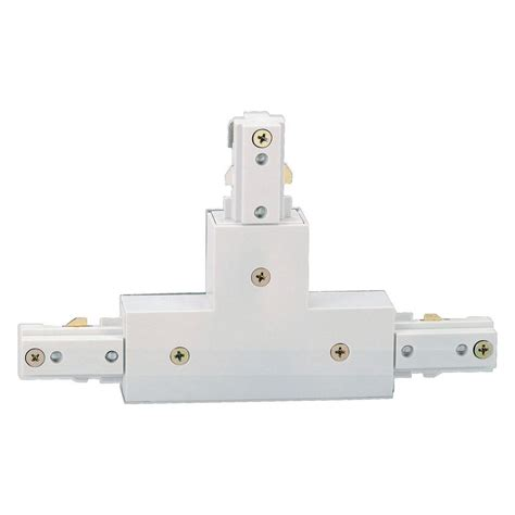 track lighting connector types hton bay white t connector for linear track lighting