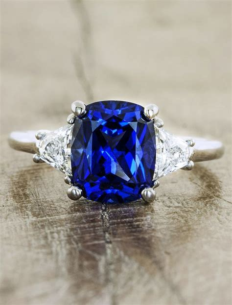 Picture Of A Blue Ring by Verlobungsringe Design And Verliebt On