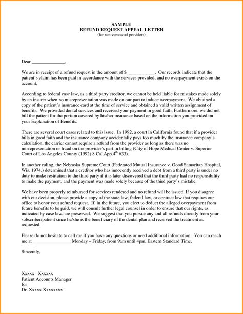 Mmu Appeal Letter Format exles of appeal letters sle appeal letter date your