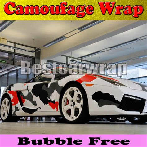red pattern vinyl wrap aliexpress com buy large red camo vinyl car wrap styling