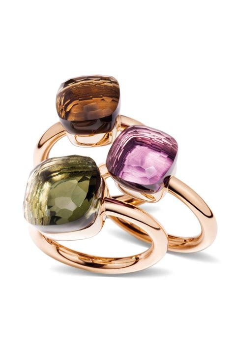 pomellato nudo collection pomellato s nudo ring collection is stunning available in