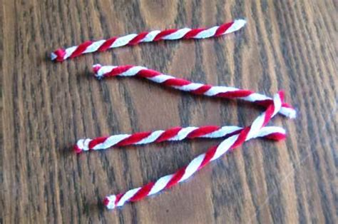 easy homemade candy cane christmas ornaments