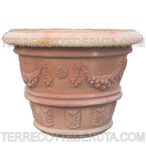 vasi deruta vasi classici decorati in terracotta foto fabbrica