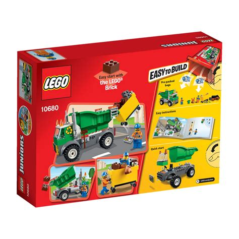 Garbage Truck Lego Juniors 10680 lego juniors garbage truck 10680 from debenhams ebay