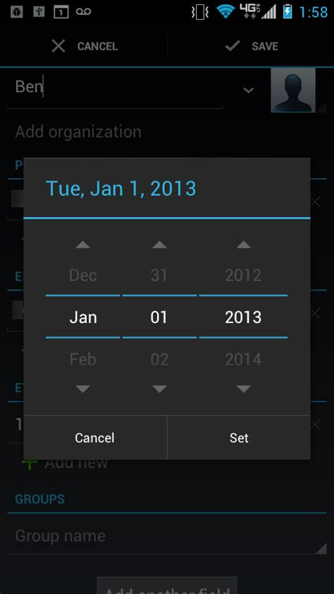 android date picker android date picker dialog tallan s technology