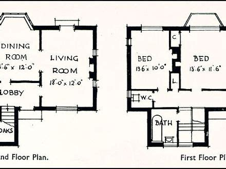 houzz homes floor plans 1930s house floor plans 1930s homes 1930s house plans