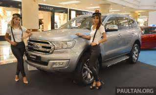 Www At Ford 2016 Ford Everest 2 2l Trend 4 215 2 And 3 2l Titanium 4 215 4