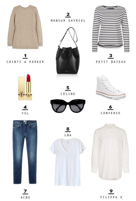 Parisian Chic Wardrobe Essentials by 1000 Ideas About Wardrobe Basics On