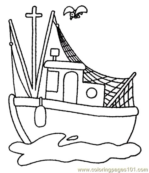 coloring pages of water transport boat coloring page 14 coloring page free water transport