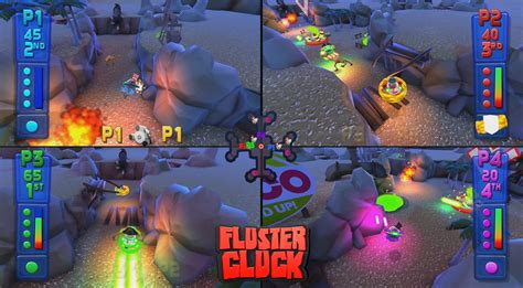 couch multiplayer pc sony s fluster cluck is a real thing ps4 exclusive with