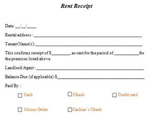 Rent Payment Agreement Template Rent Receipt Template 10 Free Word Amp Excel Templates