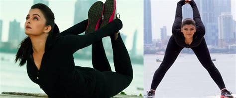 aishwarya rai gym aishwarya rai bachchan beauty and fitness secrets workout