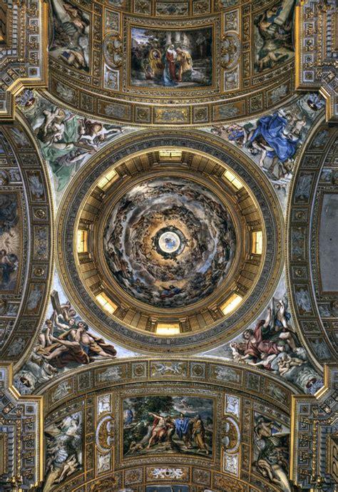 cupola di roma la cupola della chiesa di sant andrea della valle la