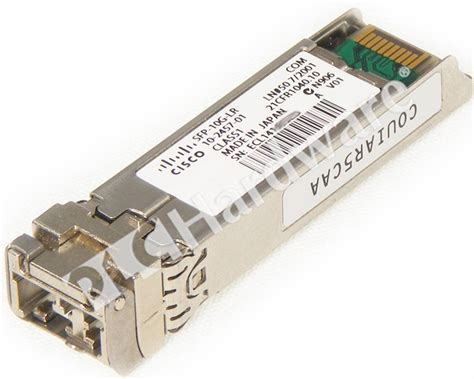 Cisco Sfp 10g plc hardware cisco sfp 10g lr used in a plch packaging
