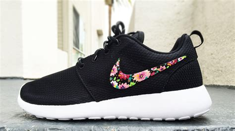 Design Custom Nike 028 nike roshe custom floral design for from custom sneakz