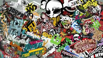wall paper stickers sticker bomb wallpaper images amp pictures becuo