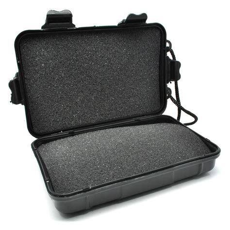 Senter Plastik box kotak penyimpanan plastik senter led black