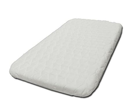 Hypoallergenic Crib Mattress Suzy 174 Microfibre Hypoallergenic Crib Mattress 4cm Thick Compatible With The Next To Me Crib