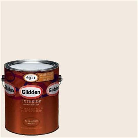 glidden premium 1 gal hdgwn03 antique white semi gloss exterior paint hdgwn03px 01s
