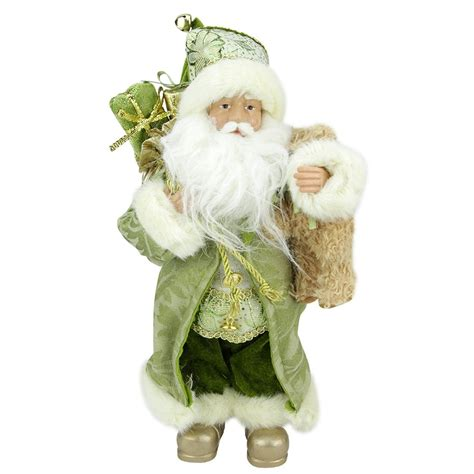 northlight st patrick s irish standing santa claus