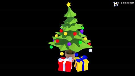 christmas tree 3d model images