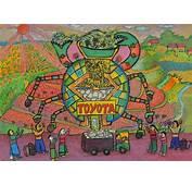 世界の子供が描いた「トヨタ夢のクルマアートコンテスト」の絵がスゴ過ぎ!  Clicccarcomクリッカー