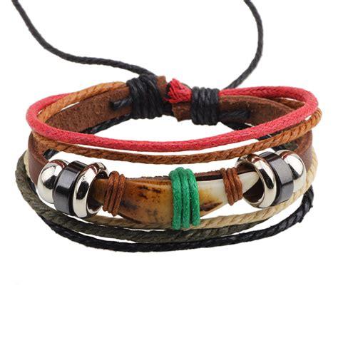Iphone 7 Plus Luxury Simple Retro Litchi Leather Soft Casing er leather bracelet wrap wolf