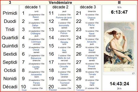 Calendrier Revolutionnaire Francais Calendrier Revolutionnaire Francais Calendar Template 2016