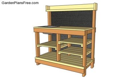 potting bench plans with sink pdf diy garden greenhouse potting bench plans download