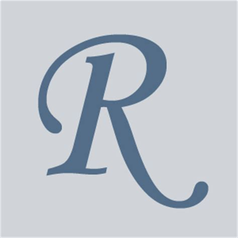 Letter By R Letter R On