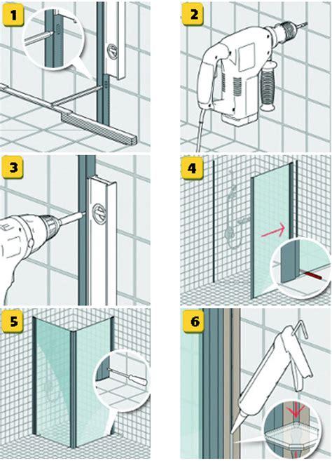 einbau duschkabine heimwerkertipps bodenebene dusche harbecke webseite