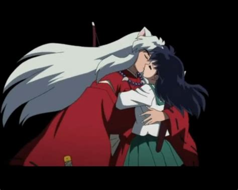 Anime Kiss Recommended Pin Inuyasha Kissing Kagome Recommended Animes And Mangas