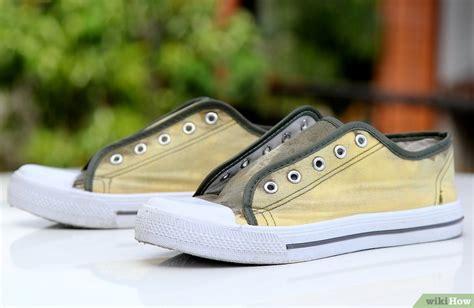 Toms 130 Sol Kanvas Karet 5 cara untuk memutihkan sepatu kanvas berwarna wikihow