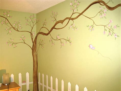 tree of wall mural tree wall murals by colette tree paintings on walls