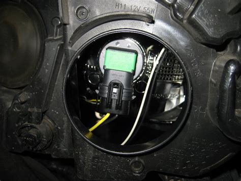 Marker Light Ford Focus Headlight Bulbs Replacement Guide 019