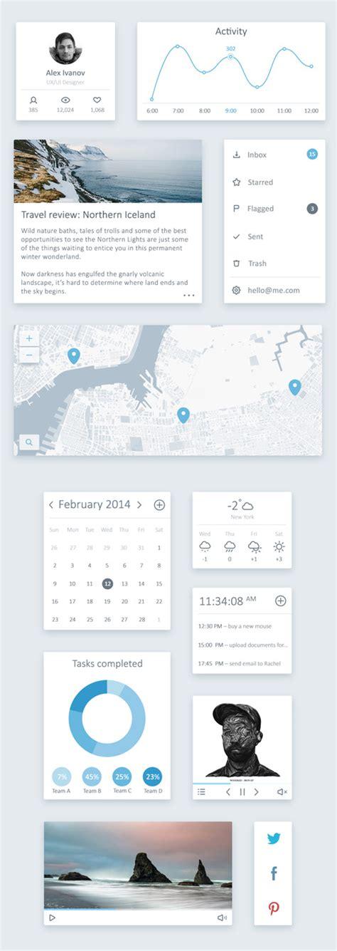 20 free and new psd ui kits flat ui kits psd free download design graphic design