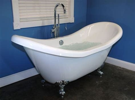 Bathtubs With Jets Ended Slipper Tub With Air Jets Home