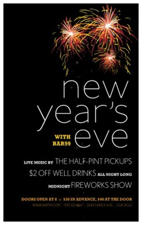 new years restaurant flyer new years eve flyers