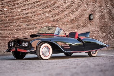 the bat the first 1956 oldsmobile 88 is allegedly the first official licensed batmobile ever made carscoops