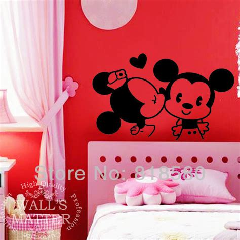 mickey and minnie mouse home decor aliexpress com buy free shipping home decor sweet kiss