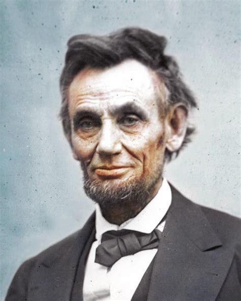 what color was abraham lincoln pictures of abraham lincoln in color timeless miracle